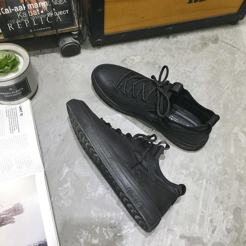 2020 Spring Mens Designer Shoes Brand Split Leather Soft Comfortable Men's Casual Shoes Portable Driving Shoe Laces Flats
