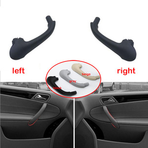 Car Front Left / Right Interior Inner Door Pull Carrier Covers Handles Trim New For Mercedes For Benz W203 C-Class 2038101551(China)