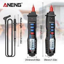 ANENG A3003 voltmetro digitale penna multimetro NCV AC/DC voltmetro amperometro ohmmetro resistenza capacità frequenza LCD
