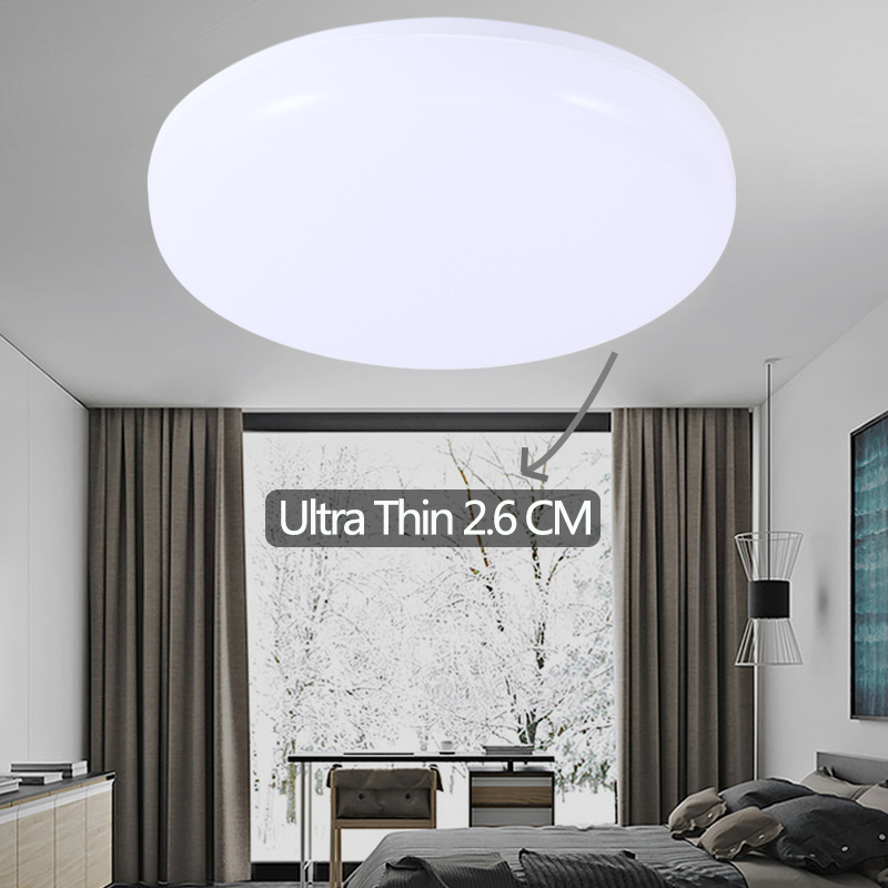 Led Panel Light 15W 20W 30W 50W Surface Mounted Modern LED Ceiling Light Round Indoor Lighting Living Room Bathroom