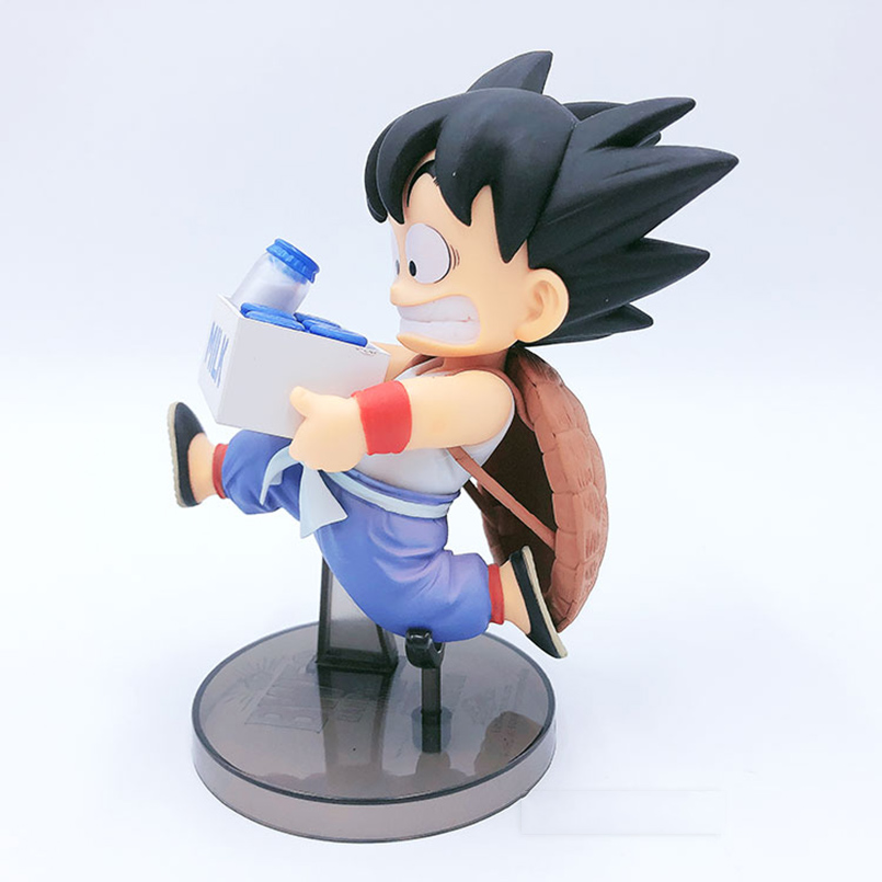 16cm japanese anime Dragon Ball PVC Action Figure Toys anime Dragon Ball Z Goku Mike box figure Decoration Model Toy kid gift in Action Toy Figures from Toys Hobbies