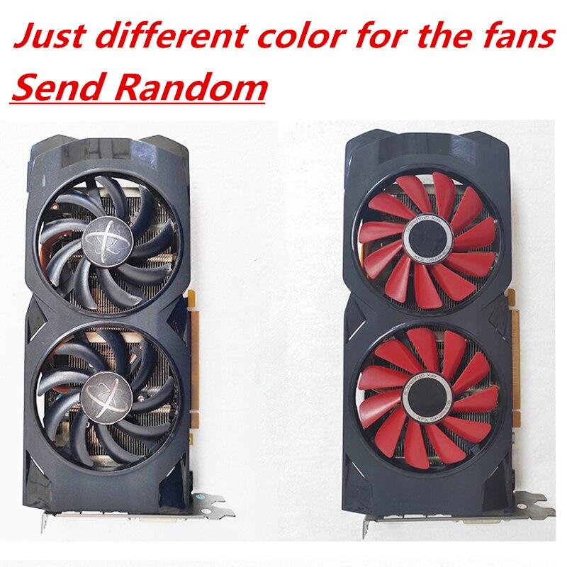 Original XFX RX 470 4GB Graphics Cards AMD Radeon RX470 4GB Screen Video Cards GPU PUBG Computer Video Game Map Not Mining 5