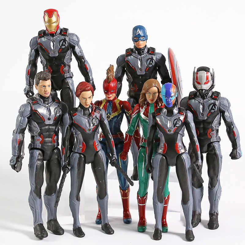New Avengers End Game Figures Iron Man Ant-Man Hawkeye War Machine Figures