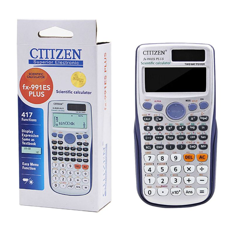 Multi-functional Scientific Calculator Computing Tools For School Office Use Supplies Students Stationery Gifts K92C