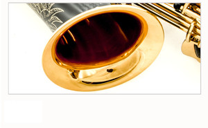 Image 2 - 뜨거운 판매 색소폰 블랙 알토 황동 조각 모드 블랙 골드 색소폰 악기 전문 알토 색소폰 및 케이스