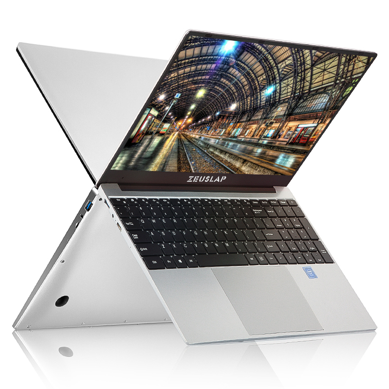 Ordinateur portable 15.6 pouces 8GB RAM 128GB 512GB 1 to SSD CPU Inte i7 ordinateur portable de jeu Ultrabook intel Quad Core Win10 ordinateur portable