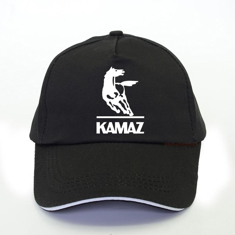 New Fashion Kamaz Logo Print Baseball Cap Summer  Men Trucker Caps Brand Leisure Snapback Hat Bone Gorras