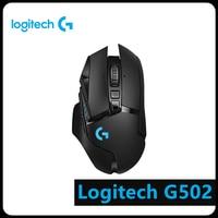 Logitech G502 LIGHTSPEED Wireless HERO 16K 16000DPI RGB 11 Key Gaming Mouse computer peripherals