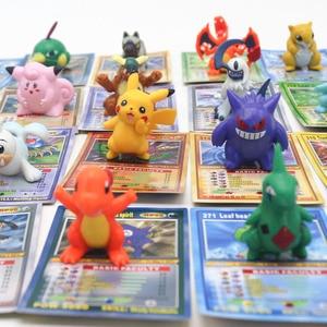 Takara tomy brinquedos para crianças, batalha, figura de jogo de cartas, figuras de ação, pokemon, bonecas com cartões, colecionável