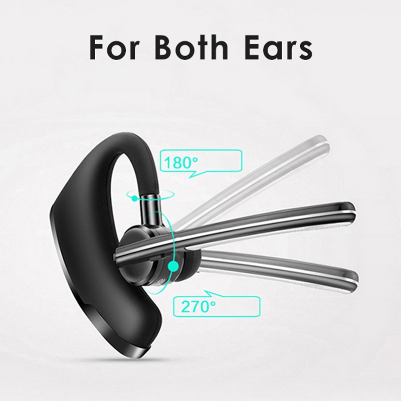 New P8 Business Bluetooth Headset V9 Transmission With Voice Control Csr4 1 Wireless Sports Mini Stereo Bluetooth Headset in Bluetooth Earphones Headphones from Consumer Electronics