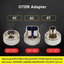 Shineway/DVP/TriBrer/Ruiyan/CETC OTDR S20 Series FHO5000 FC/SC/STหน้าแปลนOpticalเชื่อมต่อAOR500 Opticalพอร์ตอะแดปเตอร์