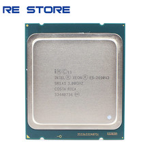 Używany procesor Intel E5 2690 v2 SR1A5 3.0Ghz 10 rdzeń 25MB gniazdo LGA 2011 Xeon CPU