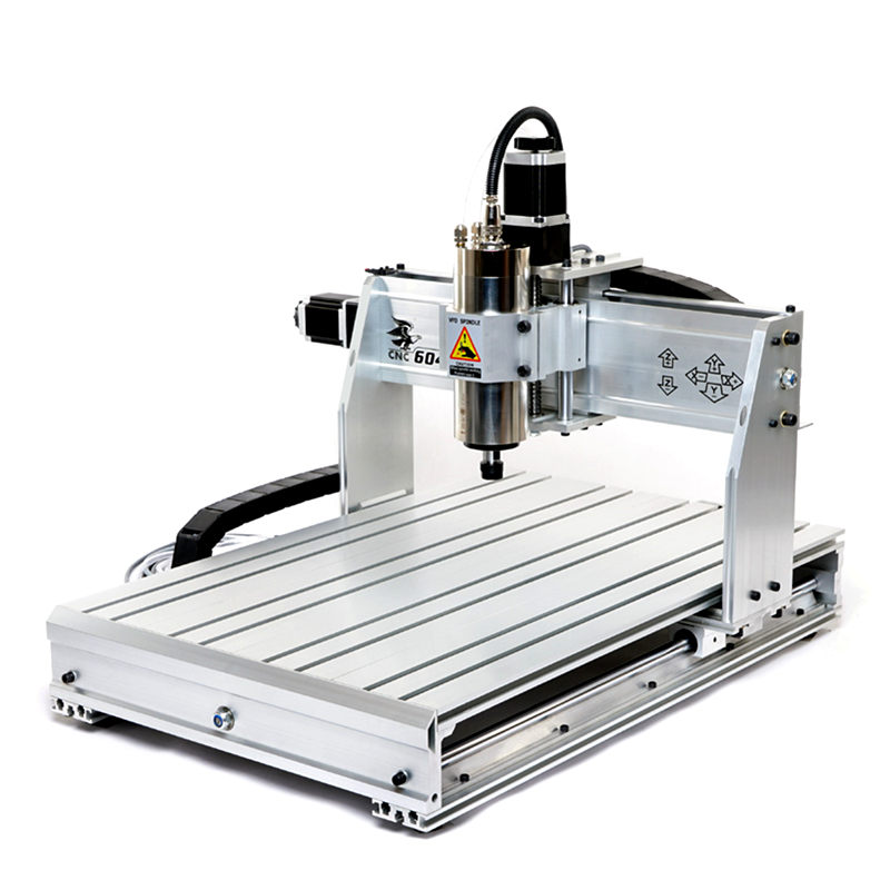 4 aixs engraving machine cnc 6040Z , with 1500kw spindle and USB port, Mach 3 auto Engraver / Milling machine free shipping