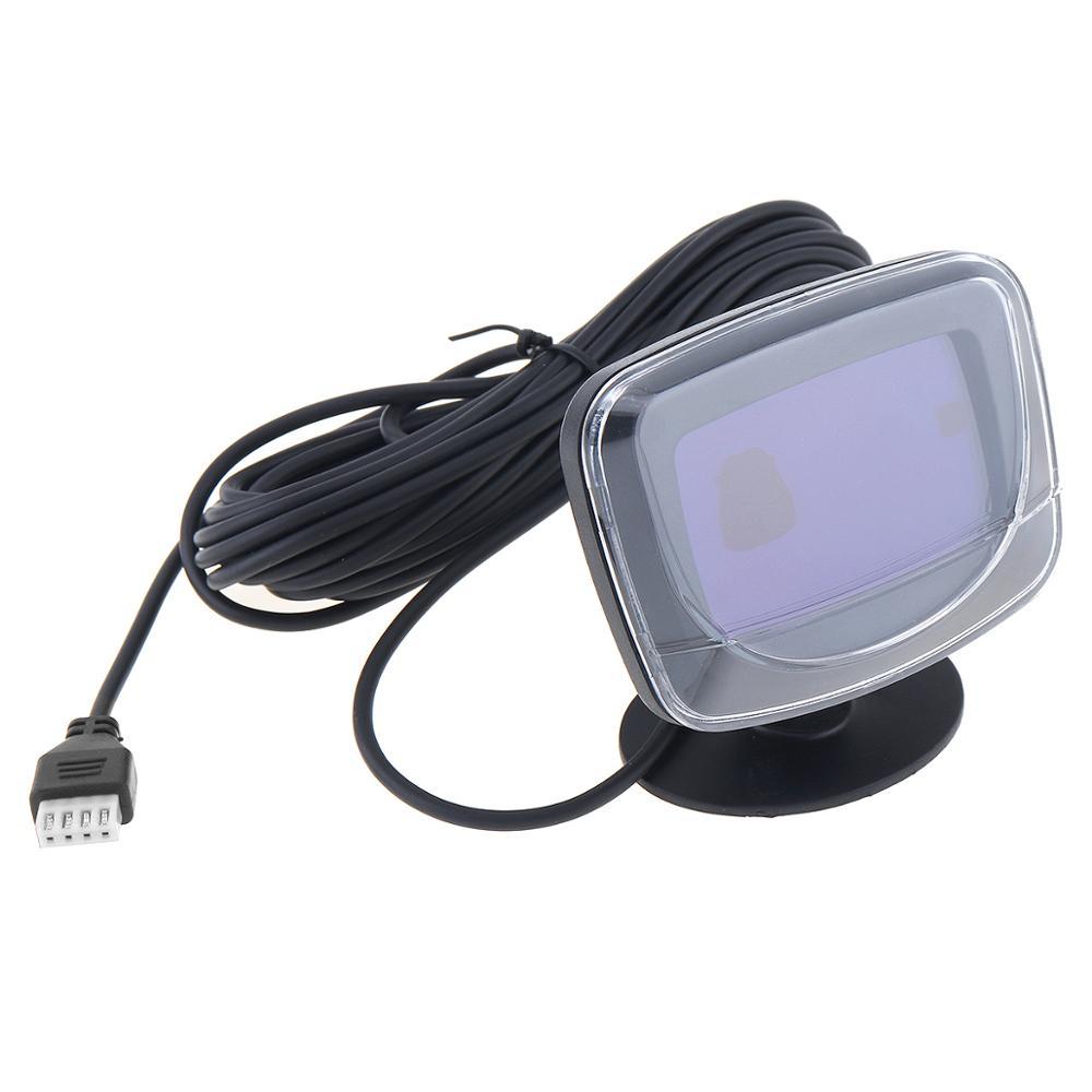 8 hinten und Vorne Ansicht Auto Parkplatz Sensor Mit LCD Display Monitor 12V Auto Reverse Backup Parkplatz Radar-Monitor detektor System