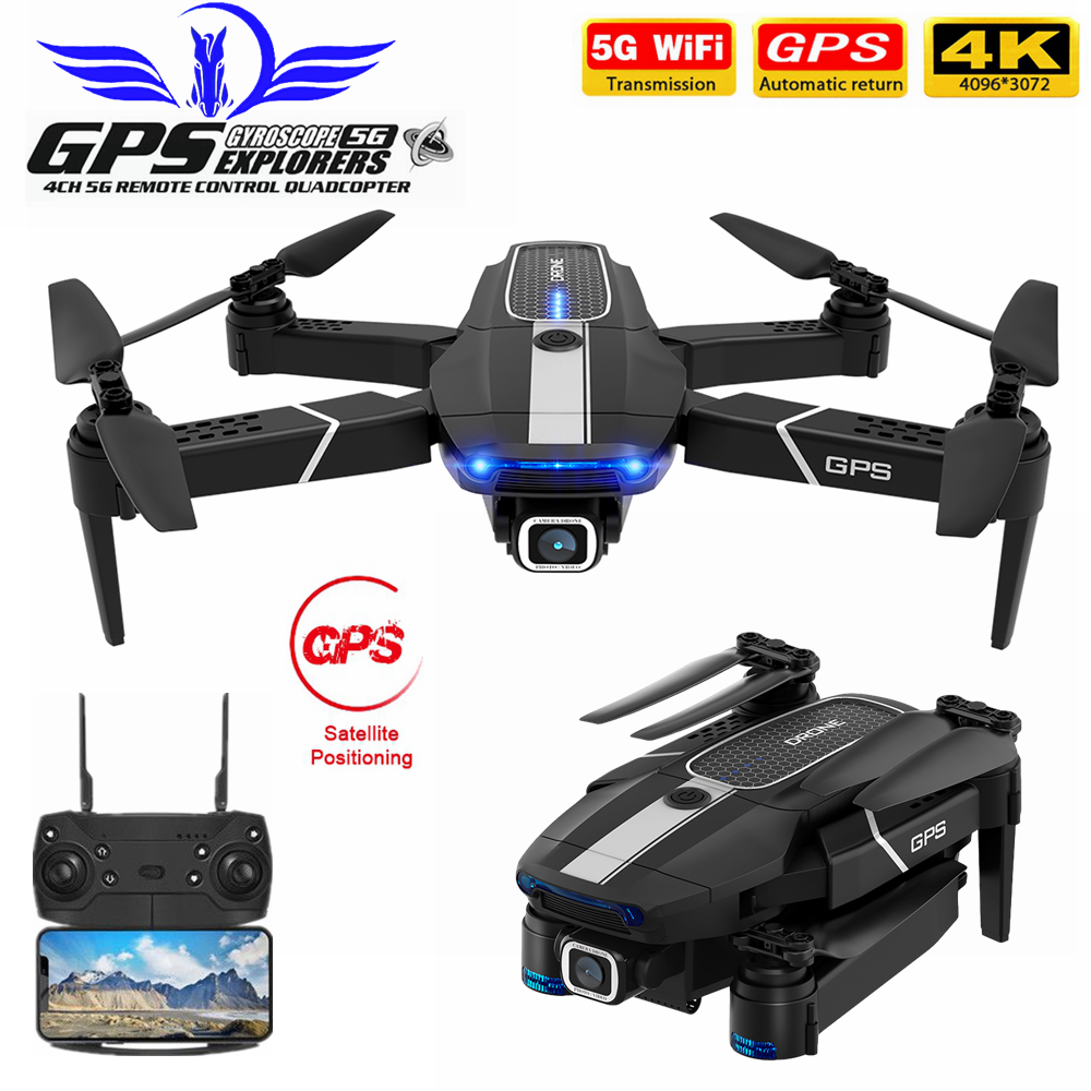 Closeout DealsFEMA Gps-Drone Quadcopter Angle-Camera Follow VS E520S Wifi Foldable Mini FPV with 4k/1080p