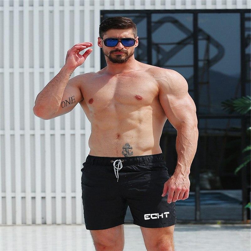 Men's Sport Running Beach Short Board Pants Hot Sell Swim Trunk Pants Quick-drying Movement Surfing Shorts Swimwear For Male
