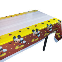 For 6 Kids Red Mickey Mouse Party Supplies Decorations Birthday Party Favors Boys Tablecloth Balloons Caketopper(China)