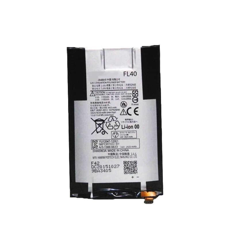 100% ใหม่ 3630mAh FL40 แบตเตอรี่สำหรับ Motorola Moto X 3A MOTO X เล่น Dual XT1543 XT1544 XT1560 XT1561 XT1562 XT1563 โทรศัพท์