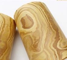 3PCS Length:2.5Meters  Width:25cm Stone Bark Wood Veneer Furniture Skin