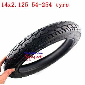 Image 3 - Bánh 14 inch Lốp Xe 14X2.125/54 254 lốp ống bên trong phù hợp với Nhiều Khí Điện Xe Tay Ga và Xe Máy E Xe Đạp 14*2.125 lốp xe 14x2.125