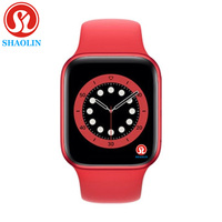 Reloj inteligente Serie 6 para hombre y mujer, pulsera con Bluetooth, llamadas, para Apple watch, iphone, Android, 38mm, 40mm, 42mm y 44mm
