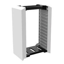 12 in 1 oyun diskleri depolama braketi kulesi Xbox bir anahtar PS5 Blue Ray oyun Disk standı tutucu oyun aksesuarları