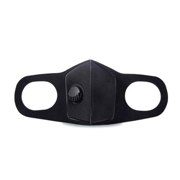 Anti-Smog Sponge Mask Pm2.5 Thermal Mask Extra-Wide Ear Straps Breathe Filter Valve Stereoscopic Design