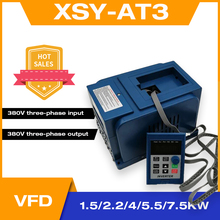 AC 380V VFD 1.5KW/2.2KW/4KW/5500W/7500W Variable Frequency Drive Free Shipping 3 Phases Motor Speed Controller Inverter
