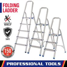 Folding Ladder Step-Stool Portable 5 Rescuing Collapsed Steel Outdoor Household Aluminium