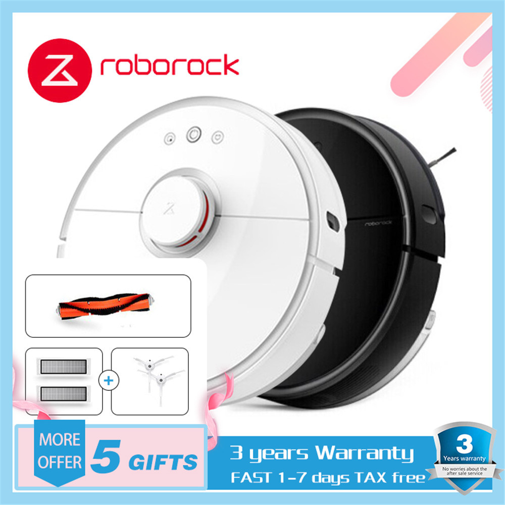 XIAOMI MIJIA Roborock S50 S55 Robot Vacuum Cleaner 2 for Home Automatic Sweeping Dust Sterilize Washing Mop Smart Planned WIFI