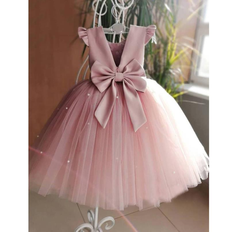 baby-girls-dresses-birthday-party-pink-ball-gowns-with-bow-pearls-mesh-stitching-kids-pageant-gowns-cute-dress-for-girls-l292