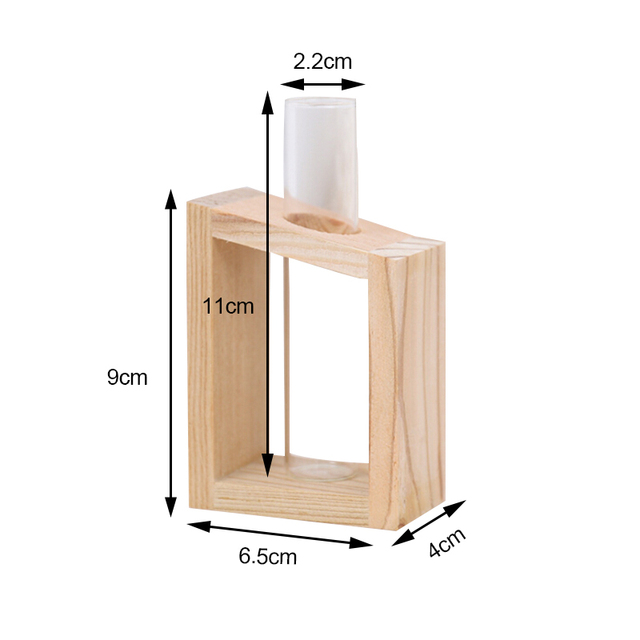 New Home Decoration Simple Nordic Glass Flower  Tube Bottle Hydroponic Terrarium Container Holder Decor for Bedroom Living Room 5