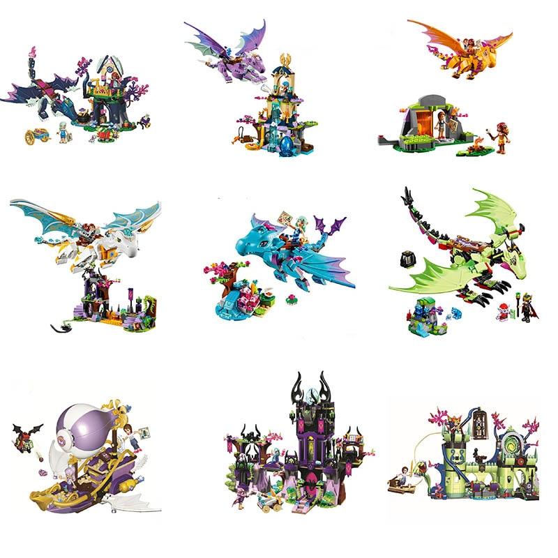 Elves The Dragon Sanctuary building bricks toy blocks gift 10549