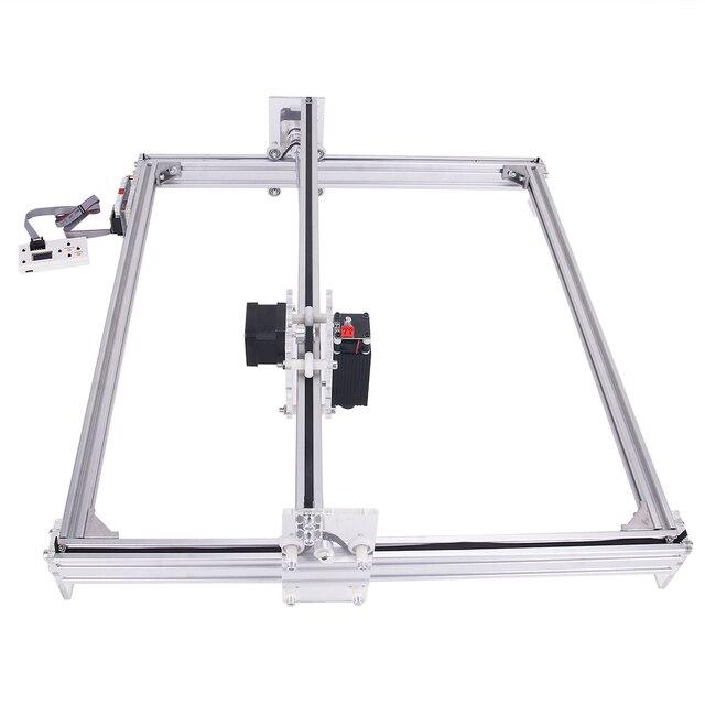 working area 40cmx50cm, 500mw/2500mw/5500mw laser cnc machine, Desktop DIY Violet Laser Engraving Machine Picture CNC Printer 1