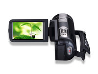 301STR FHD Touch Screen Video Camera 1080P Digital Camcorder 16X Zoom Video Recorder with Microphone 270 Degree Rotation Screen