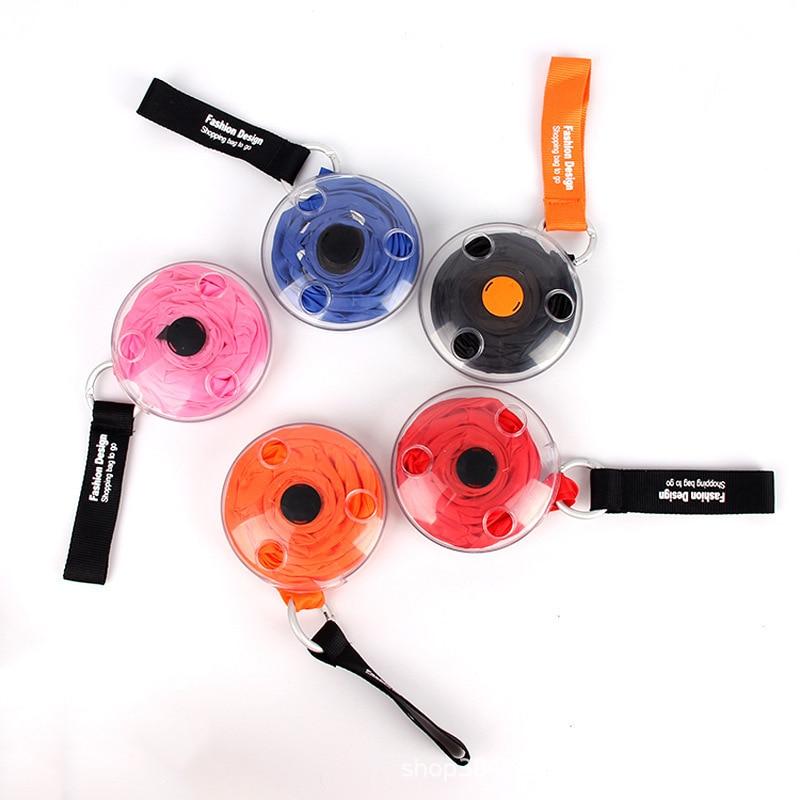 Модная креативная Складная Экологичная сумка для продуктов, складной органайзер для покупок, многоразовая Наплечная Сумка для хранения, вместительная сумка с ручкой|Хозяйственные сумки|   | АлиЭкспресс
