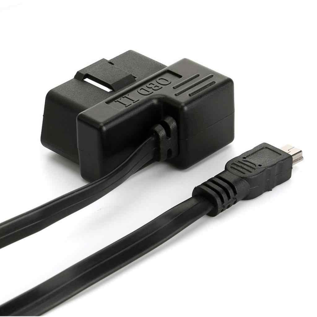 OBD 2 Kết Nối 16 Pin Sang Mini USB Dành Cho HUD Hiển Thị Phụ Tùng Xe Hơi