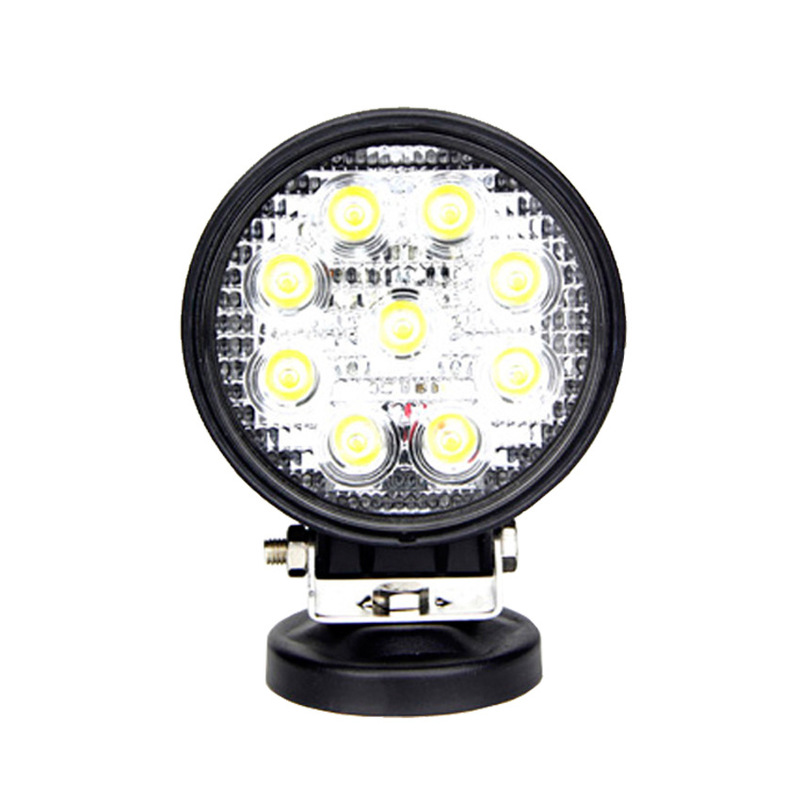 Vectra Cars 27 W Circular Working Light Off-road Vehicles JEEP Wrangler Bar Lamp To Led Lamp