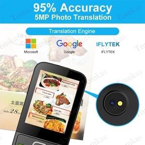 Image 2 - TOMKAS 137 traducteurs de langue traducteur intelligent écran tactile hors ligne en temps réel traducteur vocal de traduction Photo Portable