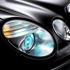 Image 5 - Auto Links/Rechts Scheinwerfer Objektiv Glas Abdeckung Für Benz W211 E240 E200 E350 E280 E300 2002 2008 Lampenschirm shell Lampcover Abdeckung