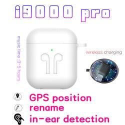 I9000 TWS Pro 1:1 Air 2nd Gen Bluetooth наушники Беспроводная гарнитура беспроводные наушники PK i12 i200 auriculares fone de ouvido