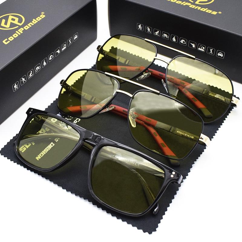 Солнечные очки coolpandas поляризационные мужские винтажные