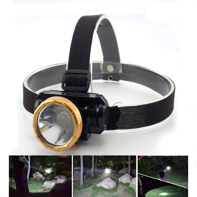 LED Headlamp Rechargeable Headlight Frontale Lamp Torch 10W High Power For Fishing Camping Bright Head Lights Built-in Battery