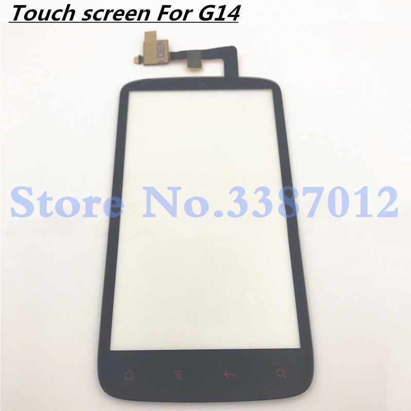 Pannello A sfioramento touch screen Per HTC Sensation 4G G14 Z710E Touch Screen Digitizer Anteriore In Vetro Sensor Parti di Ricambio