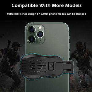 Image 5 - P20 Phone Cooler Gamer Mobile Phone Fan Semiconductor Cooling Pad Universal Cell Smartphone Cooler Fan Game Cooling Cap