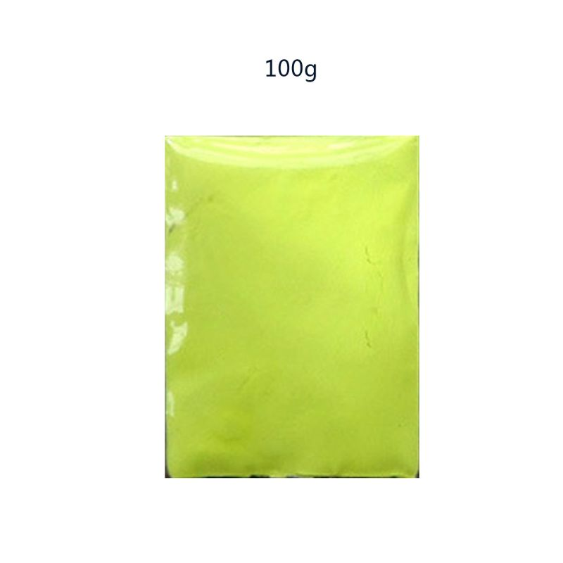 100g Luminous Resin Pigment Glow In The Dark Powder Pigment Colorant Resin Dye N58F