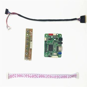 Placa controladora LCD RTD2483 V1.0 compatible con programa de tapa de salto incorporado HDMI para 15,6 pulgadas 1366x768 LVDS pantalla LCD B156XW02 V6