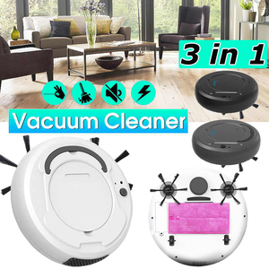 Best Intelligent Automatic Rechargeable Clean Robot Sweeping Home Floor Hair Dirt Cleaning Dust Sweeper Robots Vacuum Cleaner(China)