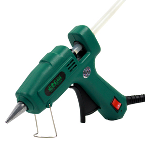 Image 4 - LAOA 25W/60W/100W/150W חם להמיס דבק אקדח מקצועי pistolet a colle מיני עבור מתכת/עץ עבודה מקל נייר סיכת ראש PU פרח
