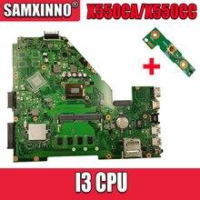 X550CA laptopa płyty głównej płyta główna w I3 procesor For Asus X550CC R510C Y581C X550C X550CL Test płyty głównej płyta główna X550CA Test płyty głównej 100% ok